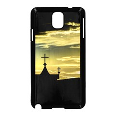 Graves At Side Of Road In Santa Cruz, Argentina Samsung Galaxy Note 3 Neo Hardshell Case (Black)