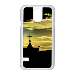 Graves At Side Of Road In Santa Cruz, Argentina Samsung Galaxy S5 Case (White)