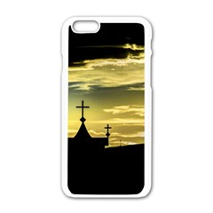 Graves At Side Of Road In Santa Cruz, Argentina Apple iPhone 6/6S White Enamel Case