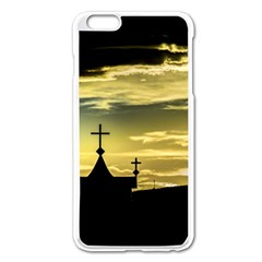 Graves At Side Of Road In Santa Cruz, Argentina Apple iPhone 6 Plus/6S Plus Enamel White Case