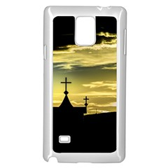 Graves At Side Of Road In Santa Cruz, Argentina Samsung Galaxy Note 4 Case (White)