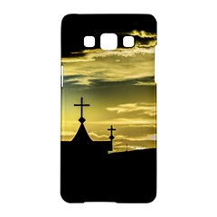 Graves At Side Of Road In Santa Cruz, Argentina Samsung Galaxy A5 Hardshell Case