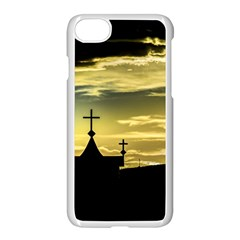 Graves At Side Of Road In Santa Cruz, Argentina Apple Iphone 7 Seamless Case (white)