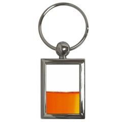 The Wine Bubbles Background Key Chains (Rectangle)