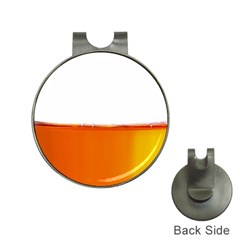 The Wine Bubbles Background Hat Clips With Golf Markers