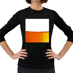 The Wine Bubbles Background Women s Long Sleeve Dark T-Shirts
