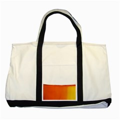 The Wine Bubbles Background Two Tone Tote Bag