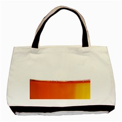 The Wine Bubbles Background Basic Tote Bag (Two Sides)