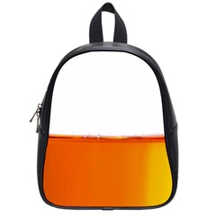 The Wine Bubbles Background School Bags (Small)