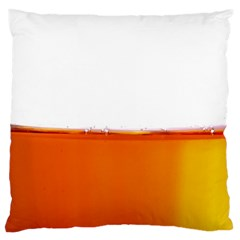 The Wine Bubbles Background Large Cushion Case (Two Sides)