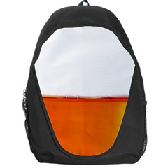 The Wine Bubbles Background Backpack Bag