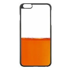 The Wine Bubbles Background Apple Iphone 6 Plus/6s Plus Black Enamel Case