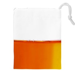 The Wine Bubbles Background Drawstring Pouches (XXL)