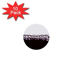 Bubbles In Red Wine 1  Mini Buttons (10 pack)