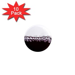 Bubbles In Red Wine 1  Mini Magnet (10 pack)