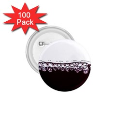 Bubbles In Red Wine 1.75  Buttons (100 pack)
