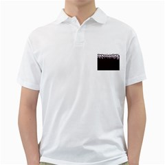 Bubbles In Red Wine Golf Shirts
