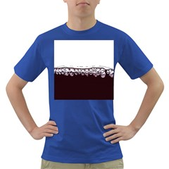 Bubbles In Red Wine Dark T-Shirt