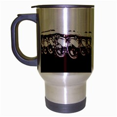 Bubbles In Red Wine Travel Mug (silver Gray)