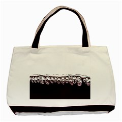 Bubbles In Red Wine Basic Tote Bag (Two Sides)