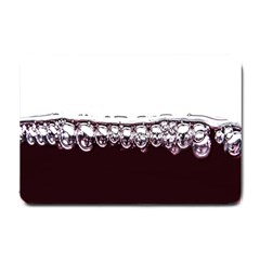 Bubbles In Red Wine Small Doormat