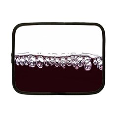 Bubbles In Red Wine Netbook Case (Small)