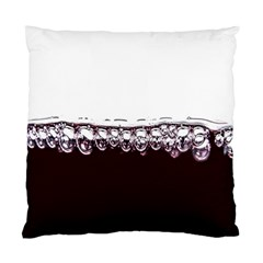 Bubbles In Red Wine Standard Cushion Case (One Side)