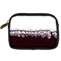 Bubbles In Red Wine Digital Camera Cases