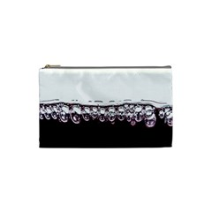 Bubbles In Red Wine Cosmetic Bag (Small)