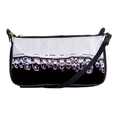 Bubbles In Red Wine Shoulder Clutch Bags
