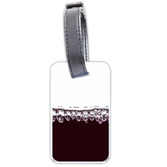 Bubbles In Red Wine Luggage Tags (Two Sides)