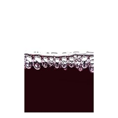Bubbles In Red Wine Shower Curtain 48  x 72  (Small)
