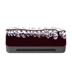 Bubbles In Red Wine Memory Card Reader with CF