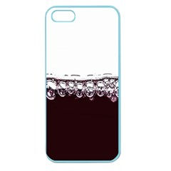 Bubbles In Red Wine Apple Seamless Iphone 5 Case (color)