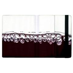 Bubbles In Red Wine Apple iPad 2 Flip Case