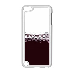 Bubbles In Red Wine Apple iPod Touch 5 Case (White)