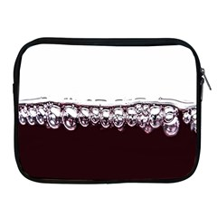 Bubbles In Red Wine Apple Ipad 2/3/4 Zipper Cases