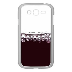 Bubbles In Red Wine Samsung Galaxy Grand Duos I9082 Case (white)