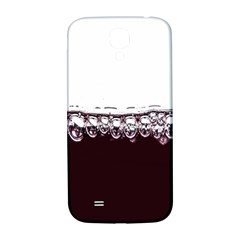 Bubbles In Red Wine Samsung Galaxy S4 I9500/I9505  Hardshell Back Case
