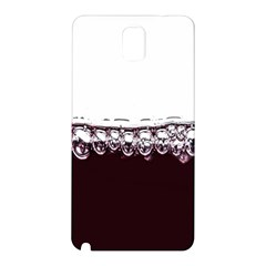 Bubbles In Red Wine Samsung Galaxy Note 3 N9005 Hardshell Back Case