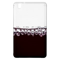 Bubbles In Red Wine Samsung Galaxy Tab Pro 8 4 Hardshell Case