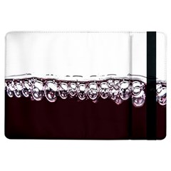 Bubbles In Red Wine iPad Air Flip