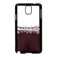 Bubbles In Red Wine Samsung Galaxy Note 3 Neo Hardshell Case (Black)