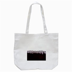 Bubbles In Red Wine Tote Bag (White)