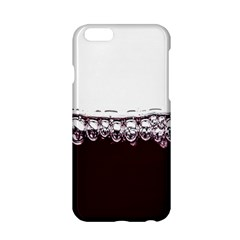 Bubbles In Red Wine Apple iPhone 6/6S Hardshell Case