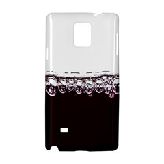 Bubbles In Red Wine Samsung Galaxy Note 4 Hardshell Case