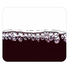 Bubbles In Red Wine Double Sided Flano Blanket (small)