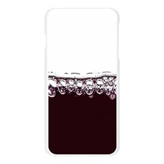 Bubbles In Red Wine Apple Seamless iPhone 6 Plus/6S Plus Case (Transparent)