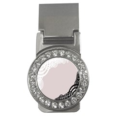 Circles Background Money Clips (CZ)