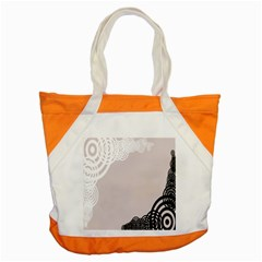 Circles Background Accent Tote Bag